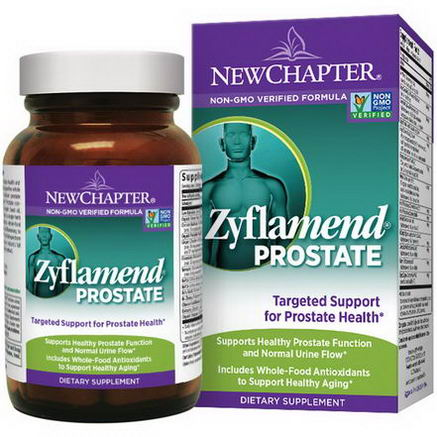 New Chapter, Zyflamend Prostate, 60 Softgels
