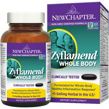 New Chapter, Zyflamend Whole Body, 144 Softgel