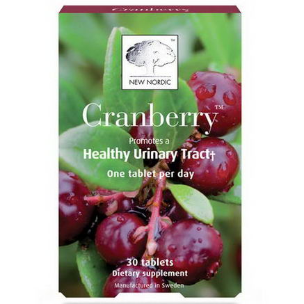 New Nordic US Inc, Cranberry, 30 Tablets