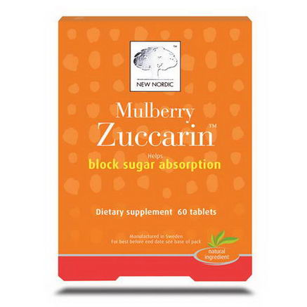 New Nordic US Inc, Mulberry Zuccarin, 60 Tablets