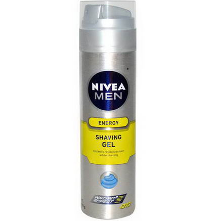 Nivea, Energy, Shaving Gel, Men, 7oz (198g)
