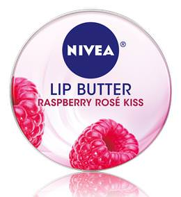Nivea, Lip Butter, Raspberry Rose Kiss, 0.59oz (16.7g)