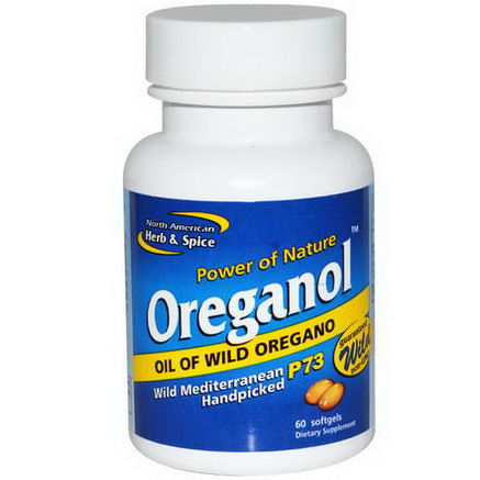 North American Herb & Spice Co. Oreganol, 60 Softgels