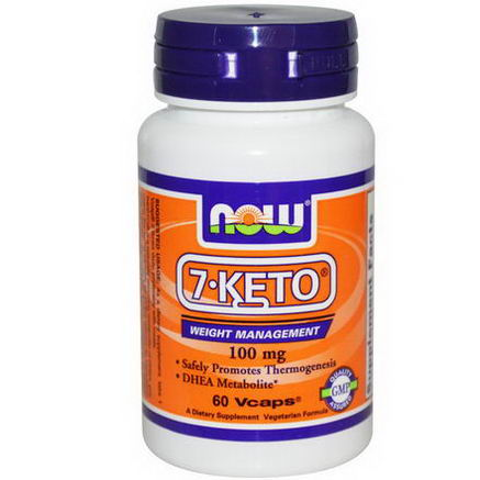 Now Foods, 7-KETO, 100mg, 60 Vcaps