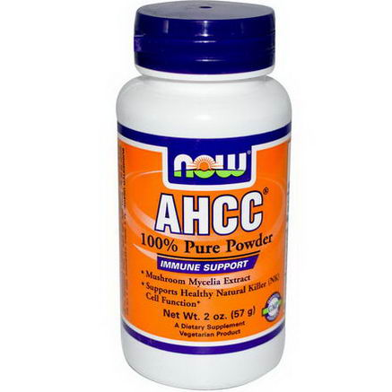 Now Foods, AHCC, 100% Pure Powder, 2oz (57g)