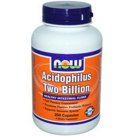 Now Foods, Acidophilus Two Billion, 250 Capsules