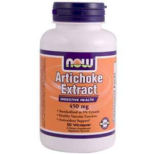 Now Foods, Artichoke Extract, 450mg, 90 Vcaps