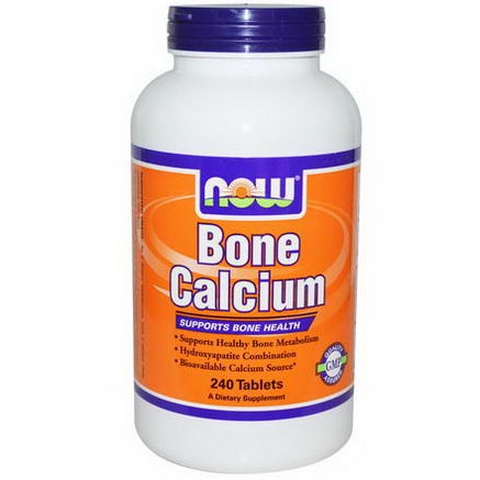 Now Foods, Bone Calcium, 240 Tablets