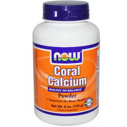 Now Foods, Coral Calcium Powder, 6oz (170g)