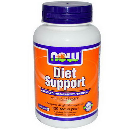 Now Foods, Diet Support with ForsLean, 120 Veggie Caps