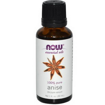 Now Foods, Essential Oils, Anise, 1 fl oz (30 ml)