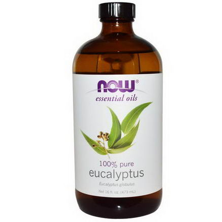 Now Foods, Essential Oils, Eucalyptus, 16 fl oz (473 ml)