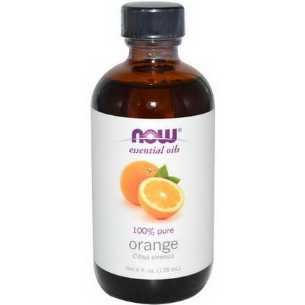 Now Foods, Essential Oils, Orange, 4 fl oz (118 ml)
