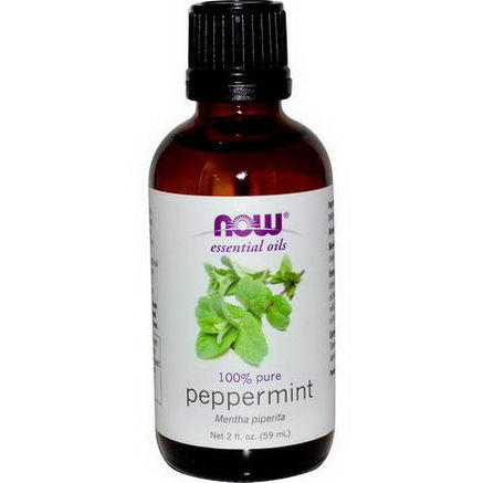 Now Foods, Essential Oils, Peppermint, 2 fl oz (59 ml)