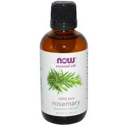 Now Foods, Essential Oils, Rosemary, 2 fl oz (59 ml)