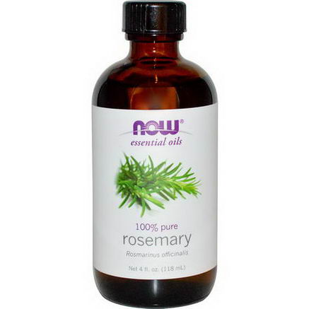 Now Foods, Essential Oils, Rosemary, 4 fl oz (118 ml)
