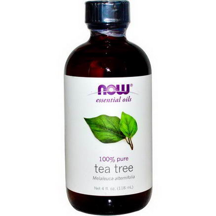 Now Foods, Essential Oils, Tea Tree, 4 fl oz (118 ml)