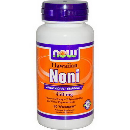 Now Foods, Hawaiian Noni, 450mg, 90 Vcaps