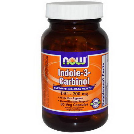 Now Foods, Indole-3-Carbinol, 200mg, 60 Veggie Caps