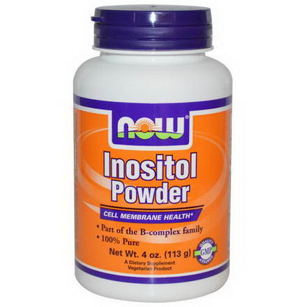 Now Foods, Inositol Powder, 4oz (113g)