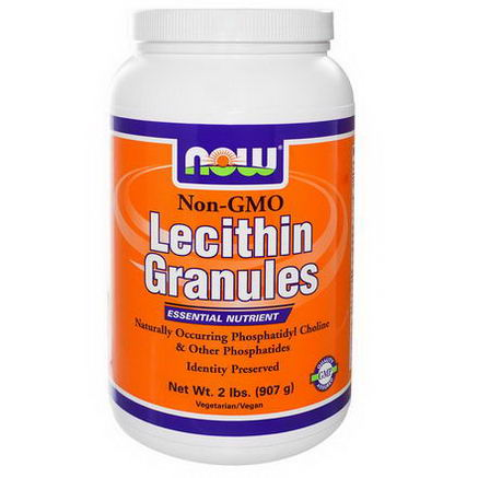 Now Foods, Lecithin Granules, 2 lbs (907g)