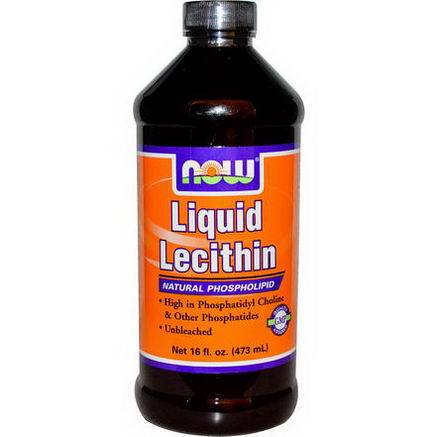 Now Foods, Liquid Lecithin, 16 fl oz (473 ml)
