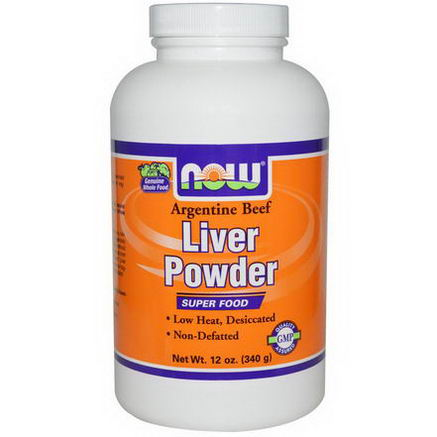 Now Foods, Liver Powder, 12oz (340g)
