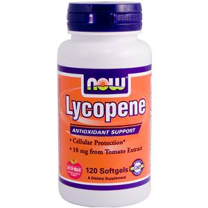 Now Foods, Lycopene, 120 Softgels