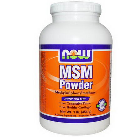 Now Foods, MSM Powder, 1 lb (454g)