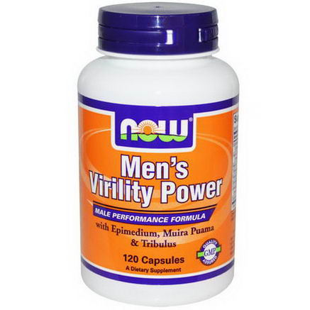 Now Foods, Men's Virility Power, 120 Capsules