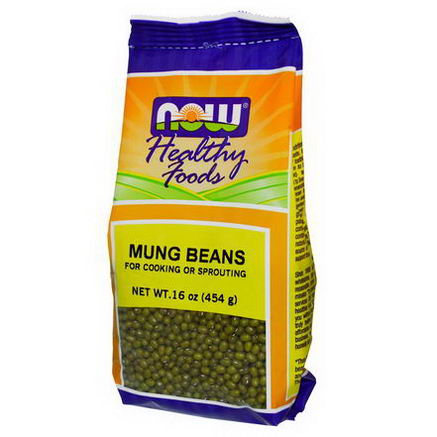Now Foods, Mung Beans, 16oz (454g)
