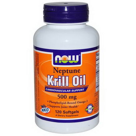 Now Foods, Neptune Krill Oil, 500mg, 120 Softgels