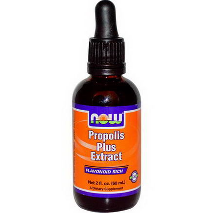 Now Foods, Propolis Plus Extract, 2 fl oz (60 ml)