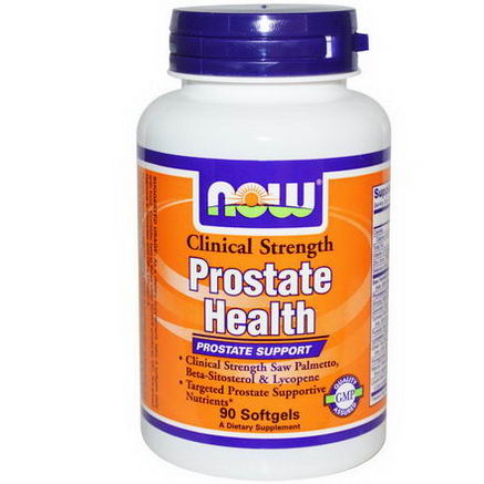 Now Foods, Prostate Health, Clinical Strength, 90 Softgels