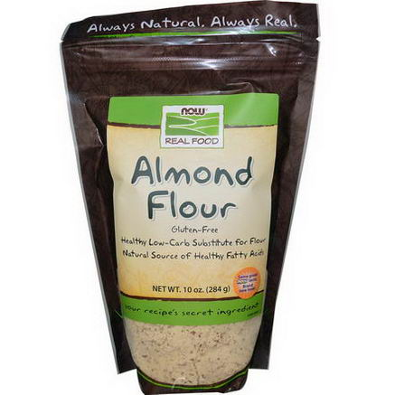 Now Foods, Real Food, Almond Flour, 10oz (284g)