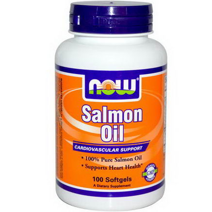 Now Foods, Salmon Oil, 100 Softgels