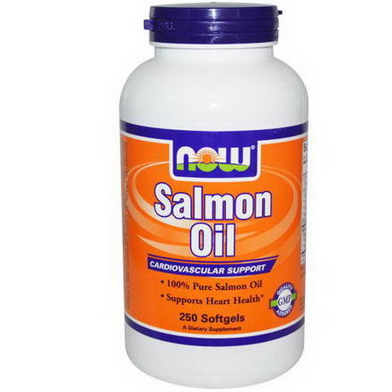 Now Foods, Salmon Oil, 250 Softgels