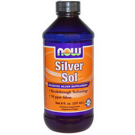 Now Foods, Silver Sol, 8 fl oz (237 ml)
