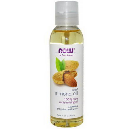 Now Foods, Solutions, Sweet Almond Oil, 4 fl oz (118 ml)