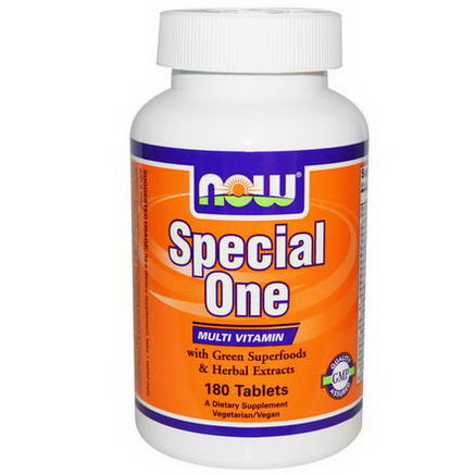 Now Foods, Special One, Multi Vitamin, 180 Tablets