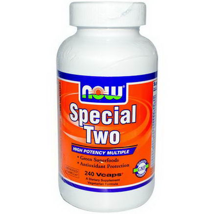 Now Foods, Special Two, Multi Vitamin, 240 Veggie Caps