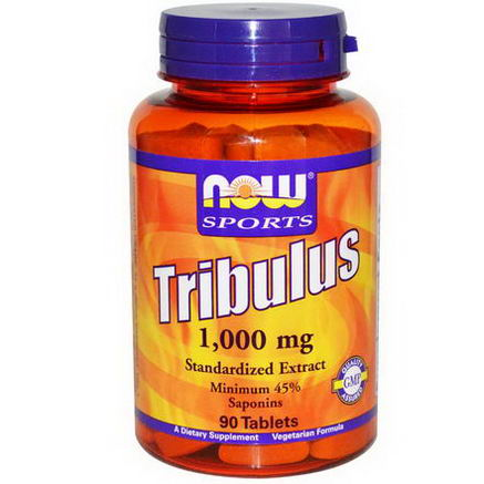 Now Foods, Sport, Tribulus, 1, 000mg, 90 Tablets