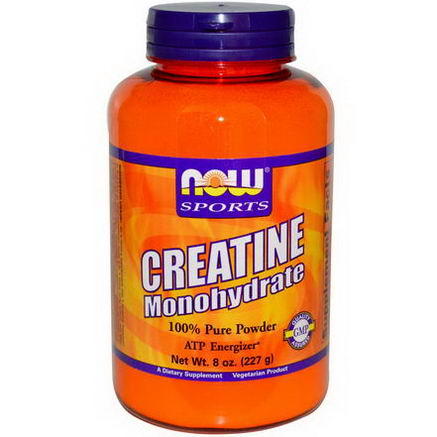 Now Foods, Sports, Creatine Monohydrate, Powder, 8oz (227g)