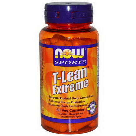Now Foods, Sports, T-Lean Extreme, 60 Veggie Caps