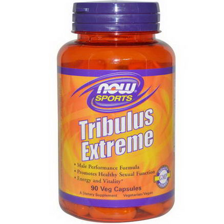 Now Foods, Sports, Tribulus Extreme, 90 Veggie Caps