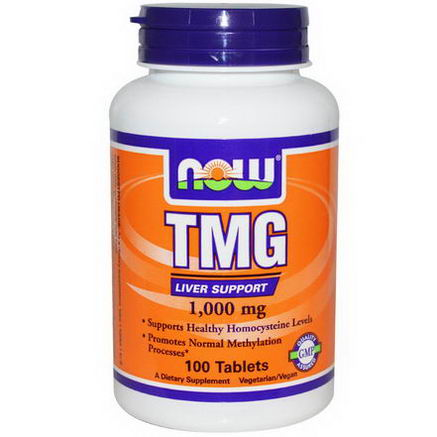 Now Foods, TMG, 1, 000mg, 100 Tablets