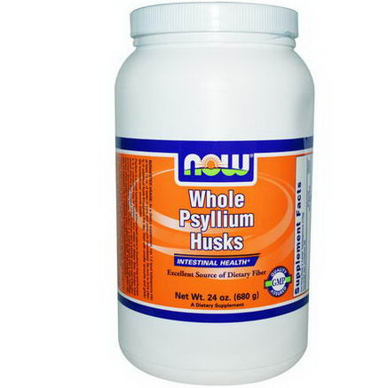 Now Foods, Whole Psyllium Husks, 24oz (680g)