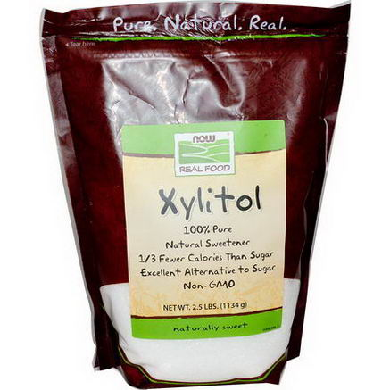 Now Foods, Xylitol, 2.5 lbs (1134g)