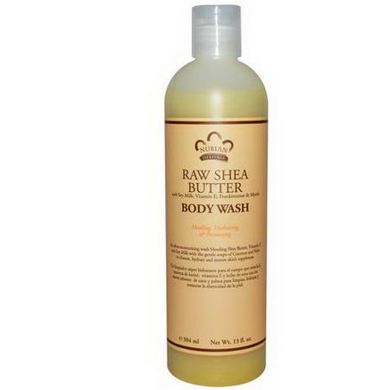 Nubian Heritage, Body Wash, Raw Shea Butter, 13 fl oz (384 ml)