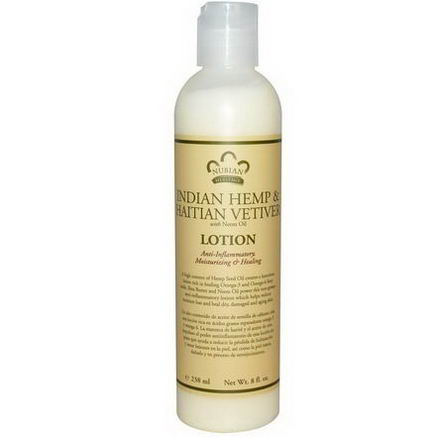 Nubian Heritage, Lotion, Indian Hemp & Haitian Vetiver, 8 fl oz (238 ml)